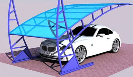 Canopies are automobile exclusive