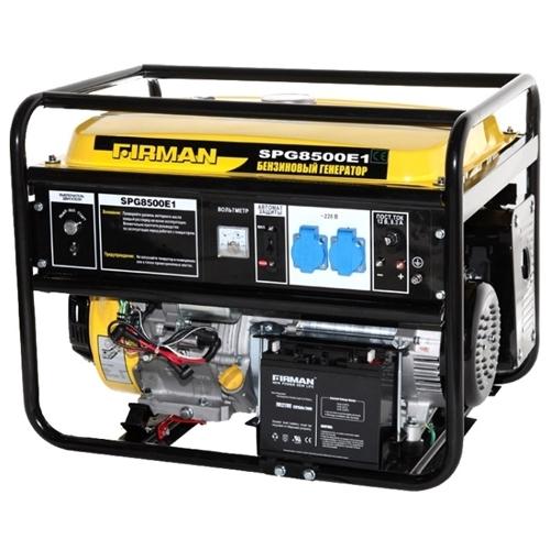 Бензиновый генератор SPG8500E1+ATS