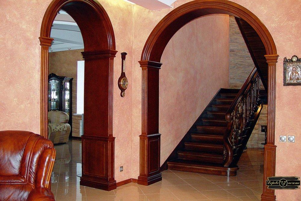 деревянные арки для дверных проходов фото птицы