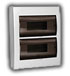 Buy Boxing with a transparent cover for outdoor unit of 24 modular devices 730 2000 024