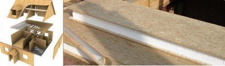 Структурные теплоизоляционные панели (панели SIP)