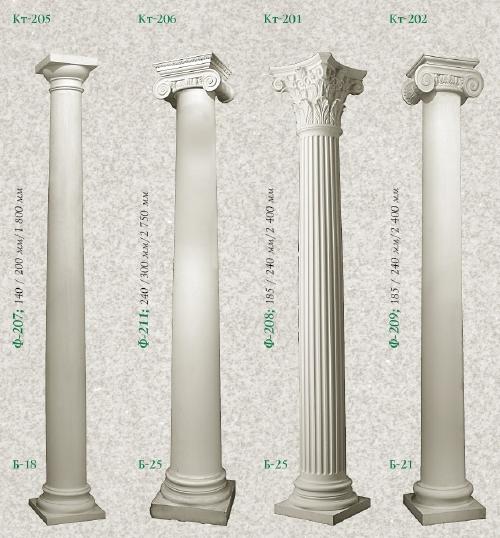 Как сделать декоративные колонны своими руками