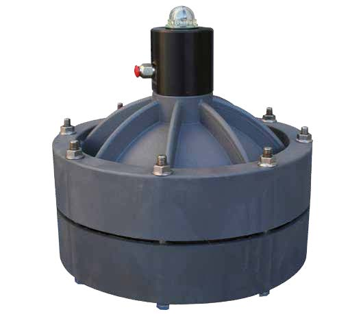 Мембранный гаситель пульсаций EQUAFLUX 200