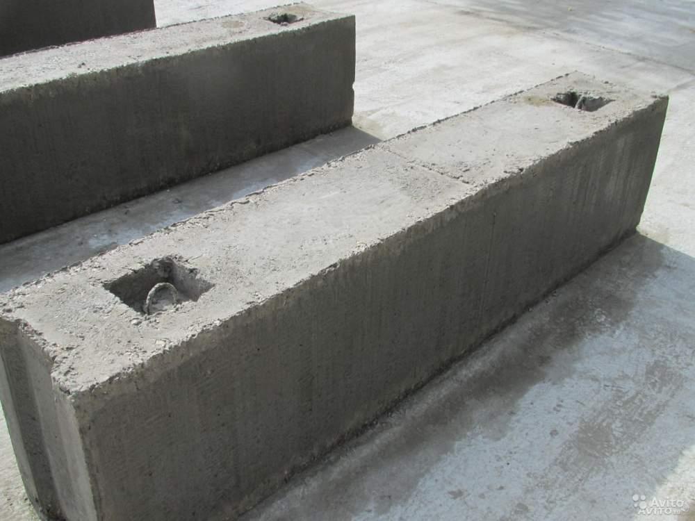 Купить Фундаментные блоки ФБС 12х6х3