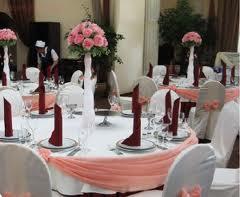Купить Композиции цветочные для свадебного стола