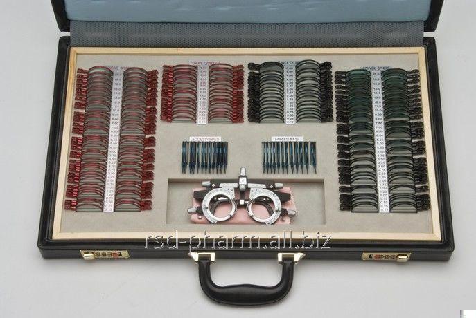 Набор пробных очковых линз Armed с оправой на 232 линзы