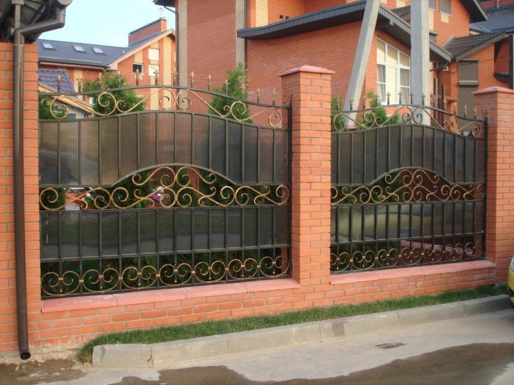 Buy Fence metal welded - option 1