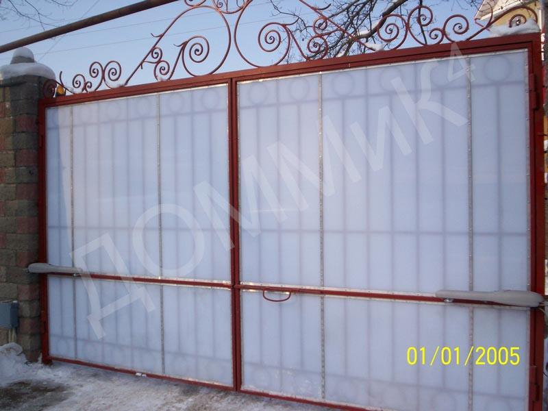 Купить Забор металлический сварной - вариант 4