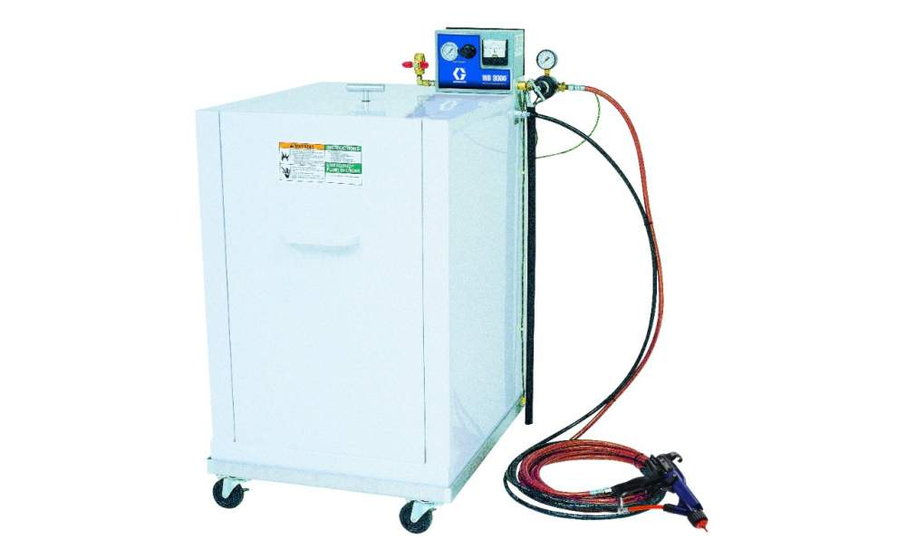 Buy The isolated system with auxiliary air supply for dispersion of the water-soluble materials Graco WB3000