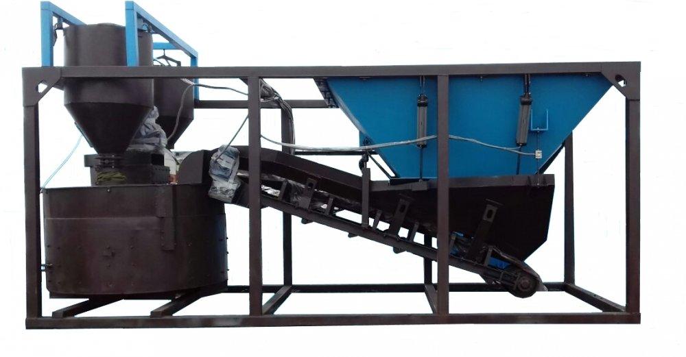 Купить Мобильный бетонный завод БСУ-20
