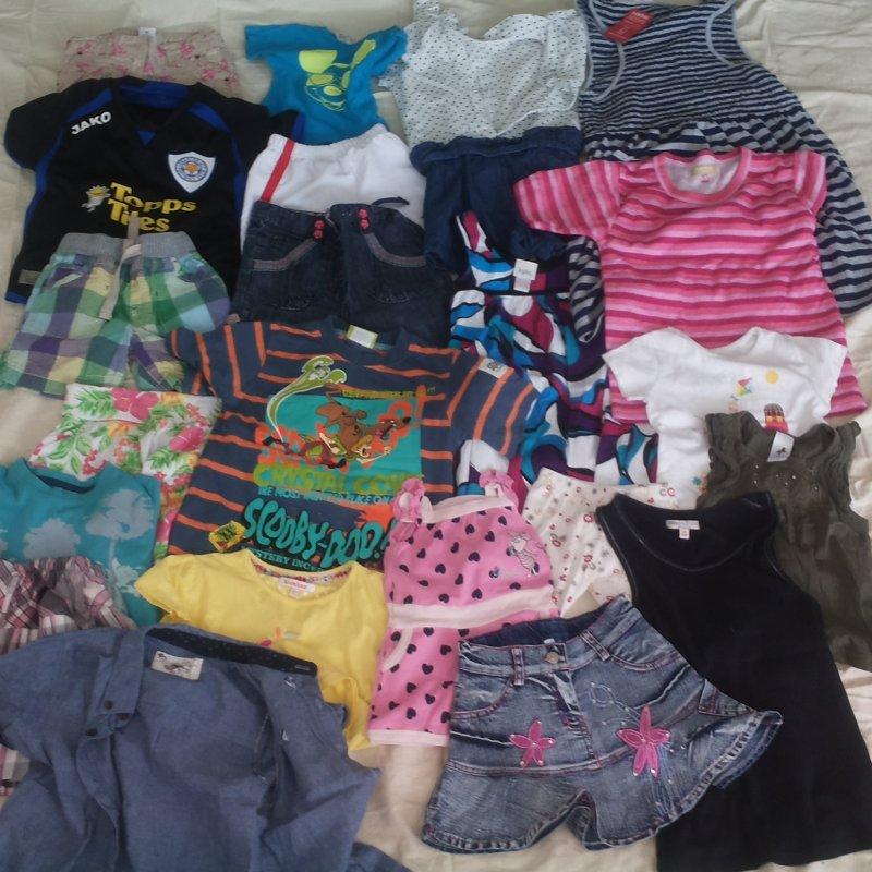 Детская одежда микс лето