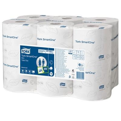 Купить Туалетная бумага Smartone белая,1000 отрывных листов, 220м