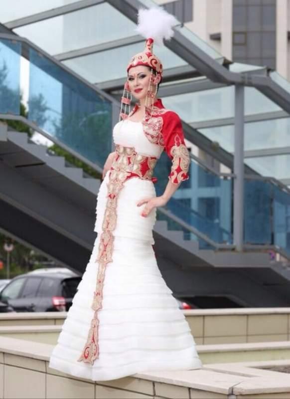 Фото казахский платьев