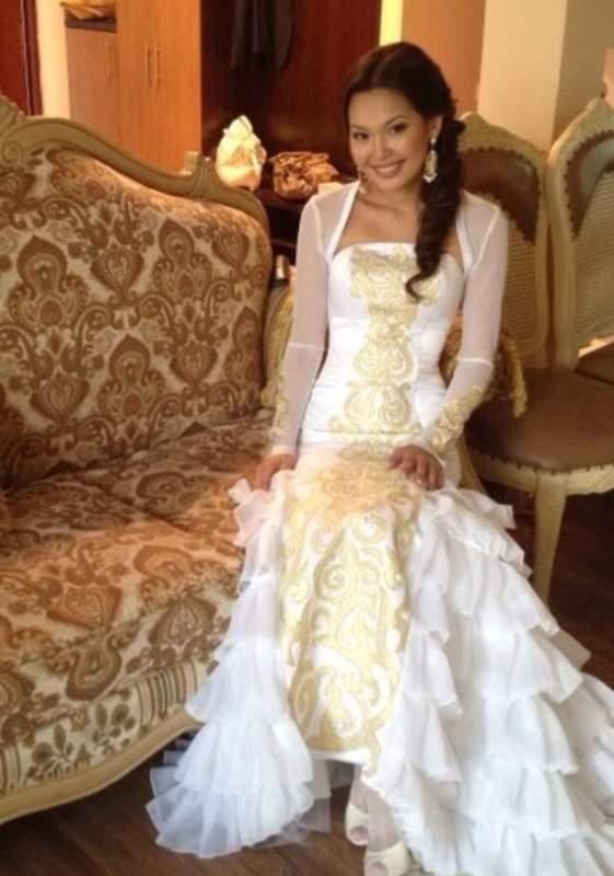 Национальная платья на кыз узату