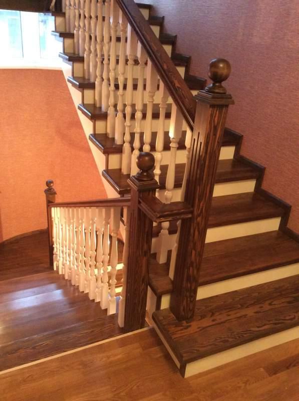 Bestwood32 маршевые лестницы - прямой марш лестница, лестницы брянск, деревянные лестницы, деревянные лестницы на
