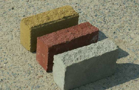 Buy Blocks are concrete chipped