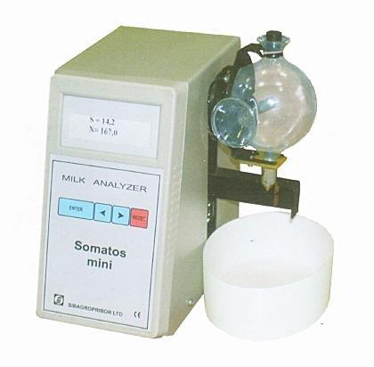 Анализатор соматических клеток в молоке Соматос мини