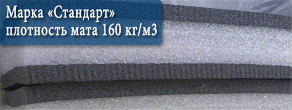 Buy The mat is wrestling, the sizes 1kh2m., Thickness of a mat is 4 cm, density 160kg/m3