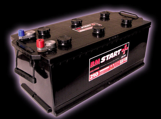 Батареи аккумуляторные свинцовые стартерные 6CT - 100 AL3,