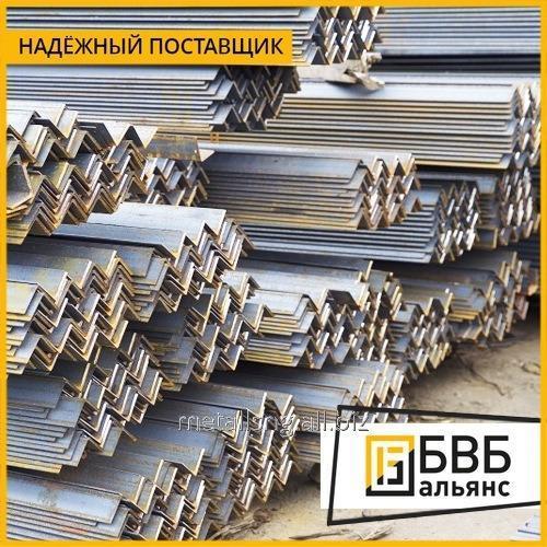 Купить Уголок неравнополочный 100 х 63 х 6 сталь 09Г2С