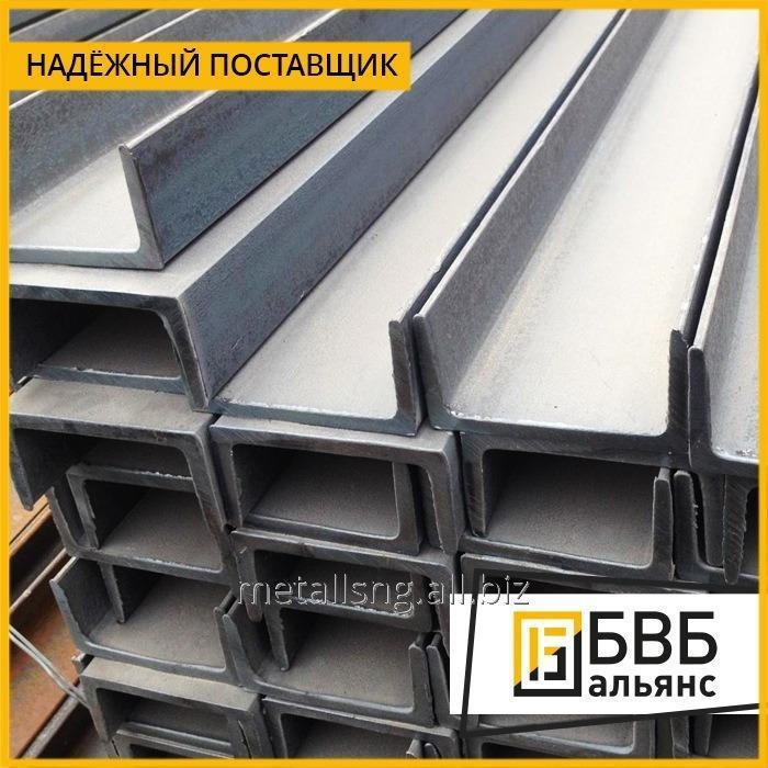 Купить Швеллер стальной гнутый 160х80х4 ст3