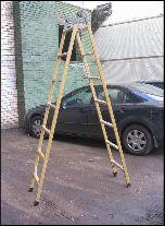 Купить Лестница-трансформер диэлектрическая ЛСП-ТС Луч ЛСП-2х1,5 ТС