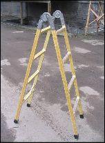 Купить Лестница-трансформер диэлектрическая ЛСП-ТС Луч ЛСП-2х2,5 ТС