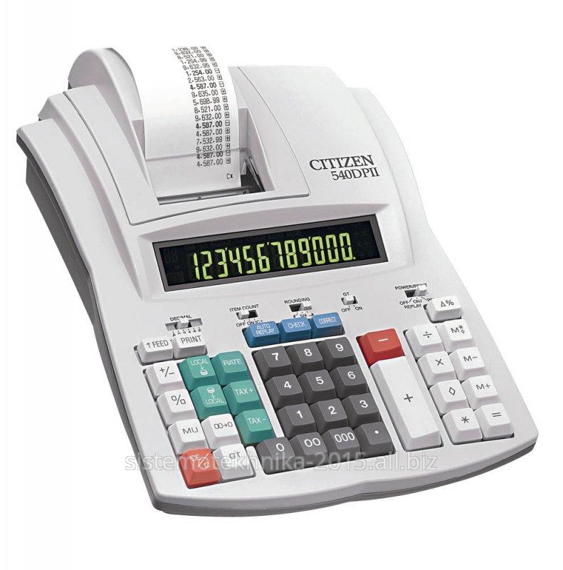Калькулятор с печатью Citizen 540DPN