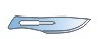 Лезвие р-р 10 Беромед хирур., однораз.,стерильное