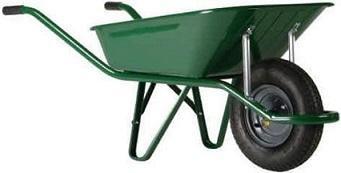 Тачка садовая, диаметр 65 литр