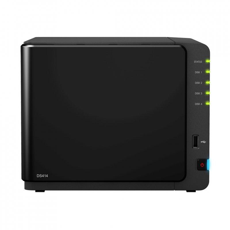 Купить NAS-сервер Synology DS414