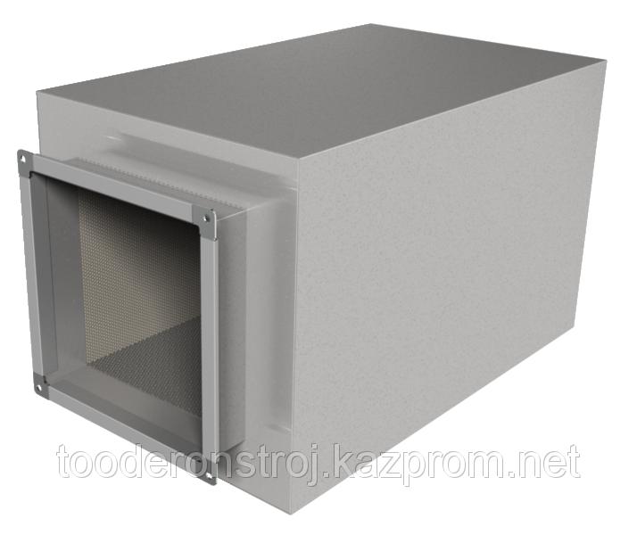 Купить Шумоглушитель для прямоугольного канала ГТП 2-2