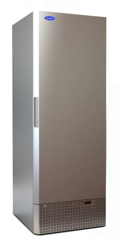 Холодильный шкаф Капри 0,7М нержавейка