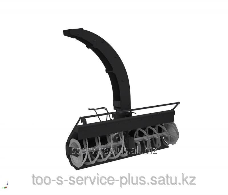 Buy The snowplow is frezernorotorny, width is 2200 mm, with mechanical turn of a corner, fur. turn of a pipe, works