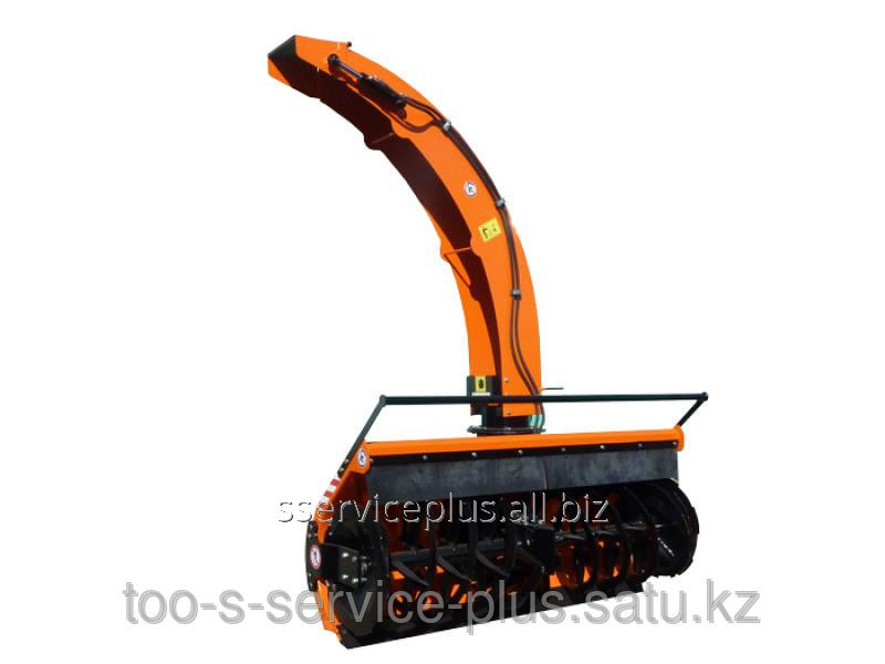 Buy The snowplow is frezernorotorny, width of 2200 mm, works from a shaft of selection of power of a tractor, with mechanical on