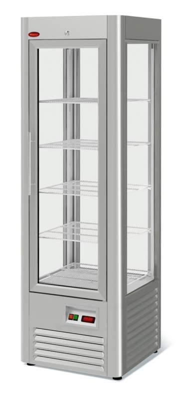 Холодильный шкаф Veneto RS-0,4 нержавейка полки-решетка
