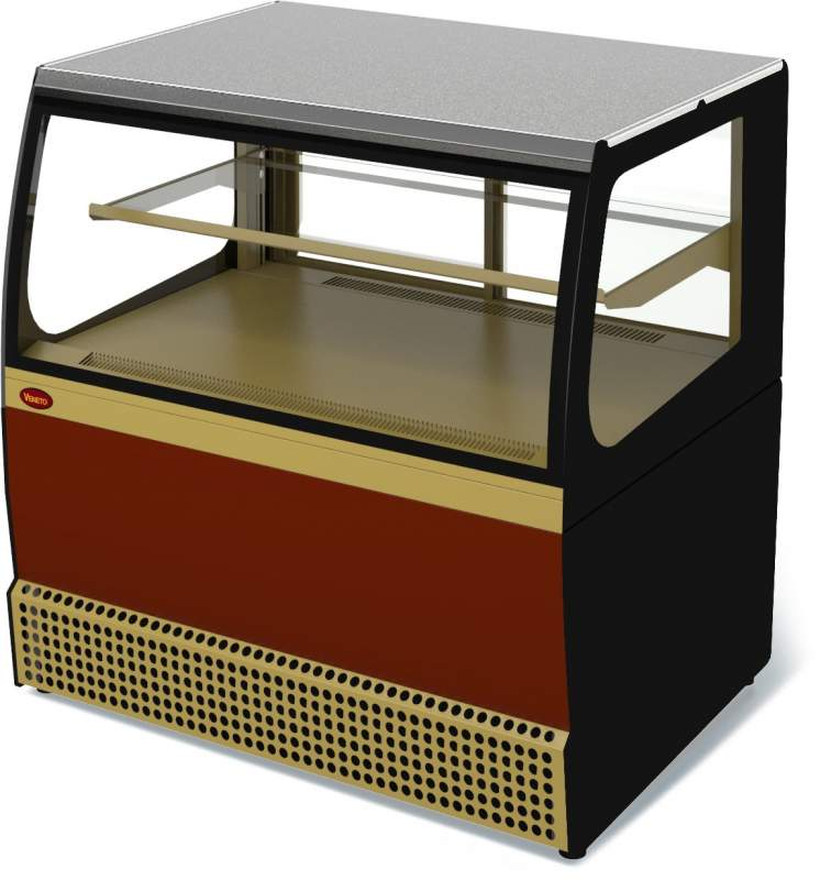 Холодильная витрина Veneto VSk-0,95 крашеная