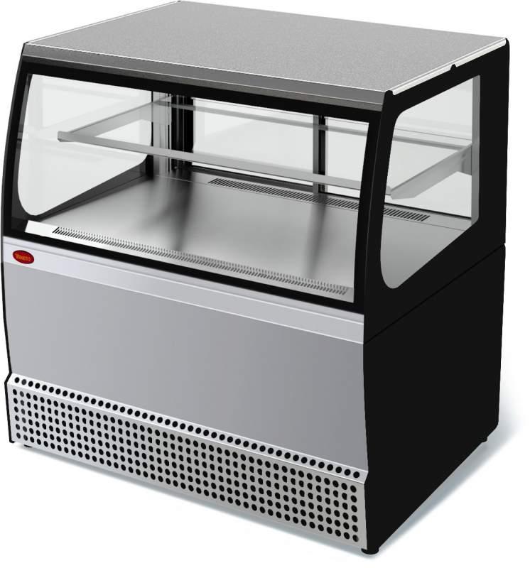 Холодильная витрина Veneto VSk-0,95 нержавейка
