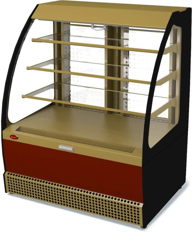Холодильная витрина Veneto VSo-1,3 крашеная