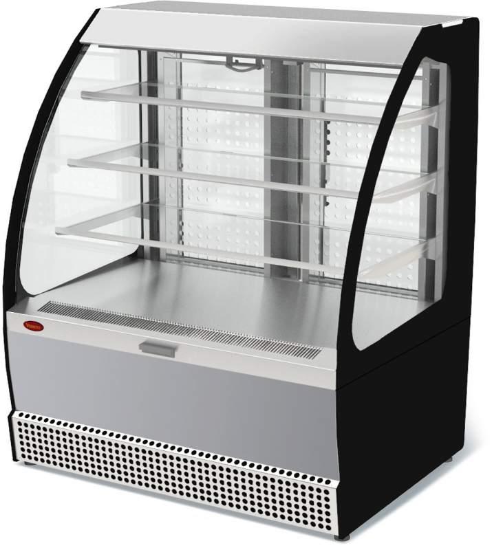 Холодильная витрина Veneto VSo-1,3 нержавейка