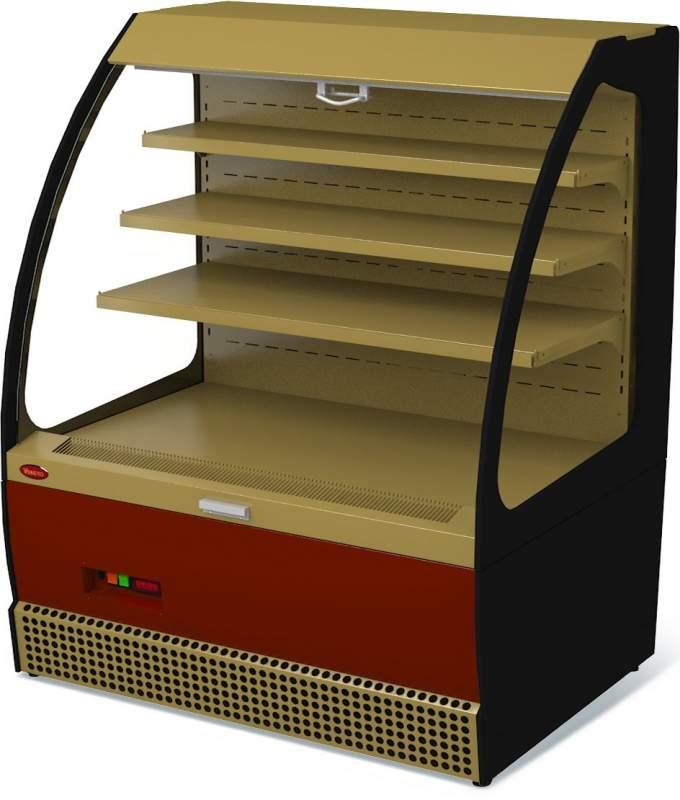 Холодильная витрина Veneto VSo-1,3GK крашеная