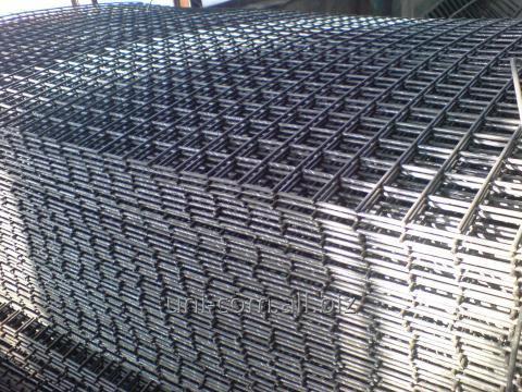 Купить Сетка сварная из стальной рифлёной проволоки ВР-1 периодического профиля ГОСТ