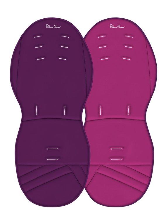 Купить Матрасик Silver Cross двусторонний для колясок Surf, Purple/Raspberi