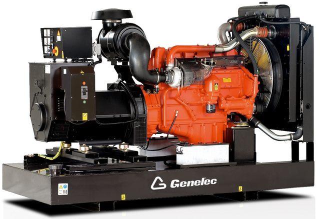 Three-phase Genelec diesel generators (France) on the basis of