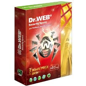 Dr.Web Security Space Pro GOLD  36 мес.,  1 ПК