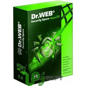 Dr.Web® Security Space Pro, на 12 мес., на 2 ПК box