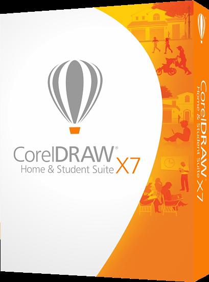 CorelDRAW Home & Student Suite X7 ДЛЯ ДОМА И УЧЕБЫ