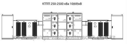 КТПП 250-2500 кВа 10(69) кВ