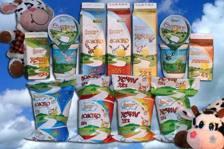 Упаковка для молочной и масложировой продукции