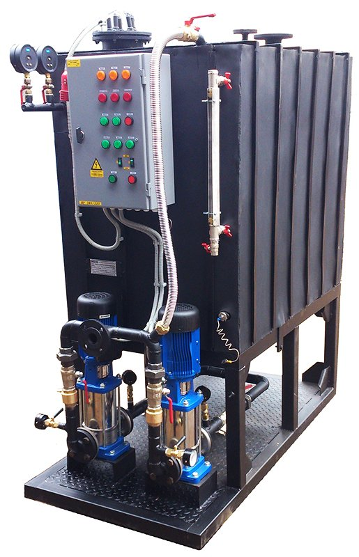 Buy Stations of collecting return condensate with electric pumps